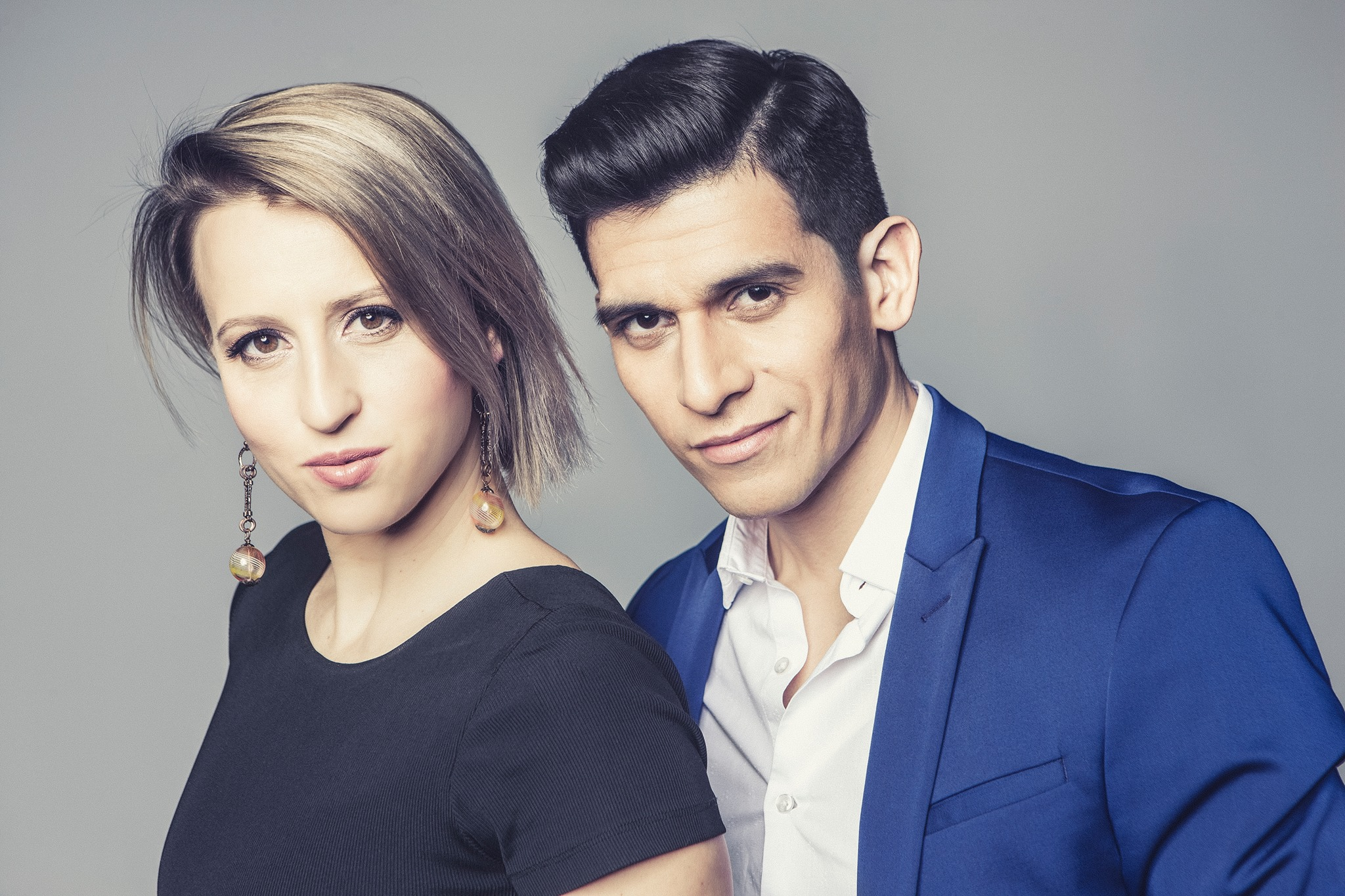 Ivan Terrazas i Sara Grdan w Zabrzu