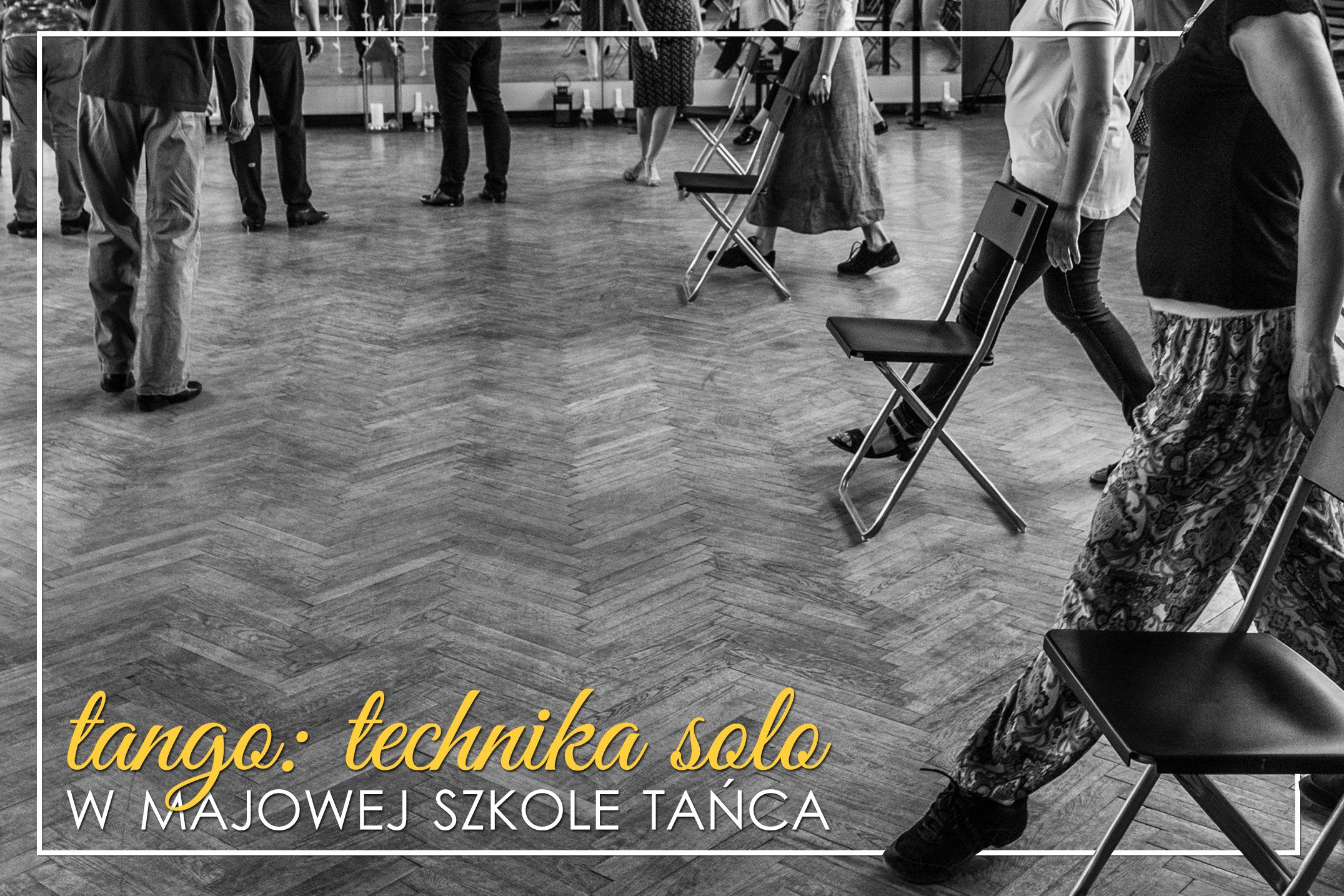 Tango technika solo